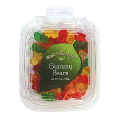MAPLE VALLEY FARMS GUMMY BEARS 7 OZ PEG TUB