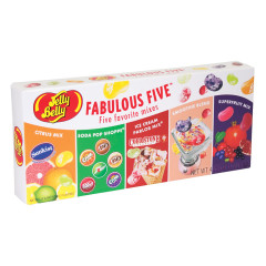 JELLY BELLY FABULOUS FIVE JELLY BEANS BOX