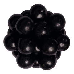 BLACK GRAPE FLAVORED 850 CT GUMBALLS
