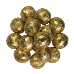 GOLD FOILED MILK CHOCOLATE MARBLE