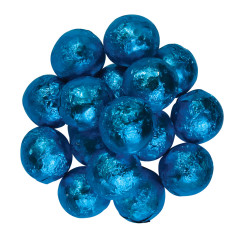 BLUE FOILED MILK CHOCOLATE MARBLE