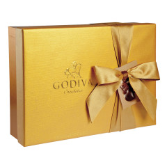 GODIVA 70 PC GOLD BALLOTIN 28.75 OZ BOX