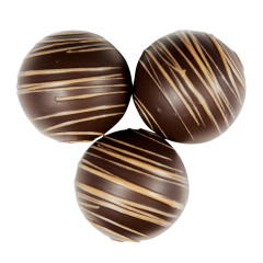 BIRNN DARK CHOCOLATE BUTTER PECAN DESSERT TRUFFLES