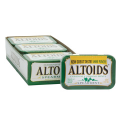 ALTOIDS SPEARMINT MINTS 1.76 OZ TIN