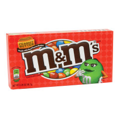 M&M'S PEANUT BUTTER 3 OZ THEATER BOX