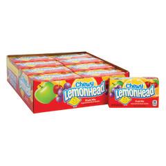 CHEWY LEMONHEAD FRUIT MIX PREPRICE 0.8 OZ BOX