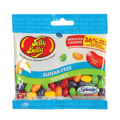JELLY BELLY SUGAR FREE SOURS JELLY BEANS 2.8 OZ BAG