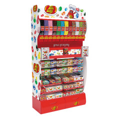 JELLY BELLY 4 FOOT COMBO DISPLAY