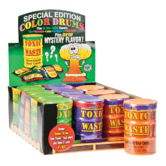 TOXIC WASTE SPECIAL EDITION SOUR CANDY DRUMS 1.7 OZ