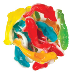 CLEVER CANDY GUMMY SAND SHARKS