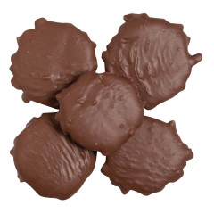NASSAU CANDY MILK CHOCOLATE JUMBO PECAN TURTLES