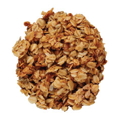 CRISPY GRANNY SMITH APPLE GRANOLA