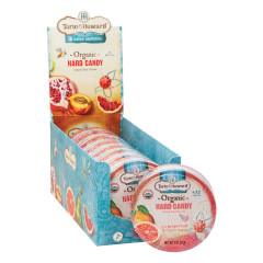 TORIE & HOWARD GRAPEFRUIT AND HONEY HARD CANDY 2 OZ TIN