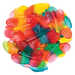 CLEVER CANDY GUMMY BUTTERFLIES