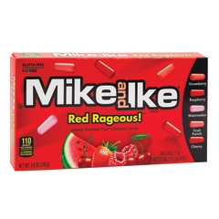 MIKE AND IKE RED RAGEOUS 5 OZ THEATER BOX
