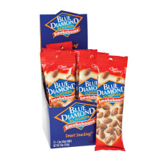 BLUE DIAMOND SMOKEHOUSE ALMONDS 1.5 OZ BAG