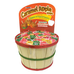 CARAMEL APPLE POPS 0.62 OZ 1000 PC BASKET