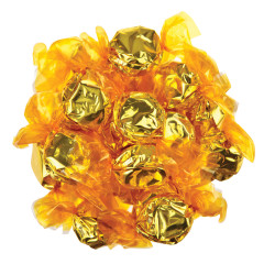 HILLSIDE SWEETS WRAPPED YELLOW LEMON HARD CANDY