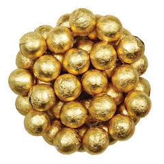 COLOR IT CANDY GOLD FOILED MILK CHOCOLATE BALLS