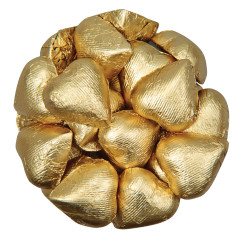 COLOR IT CANDY GOLD FOILED MILK CHOCOLATE HEARTS