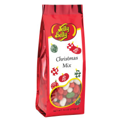 JELLY BELLY CHRISTMAS MIX JELLY BEANS 7.5 OZ GIFT BAG