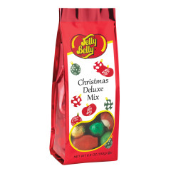 JELLY BELLY CHRISTMAS DELUXE MIX 6.8 OZ GIFT BAG