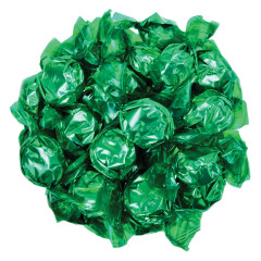 HILLSIDE SWEETS WRAPPED GREEN LIME HARD CANDY