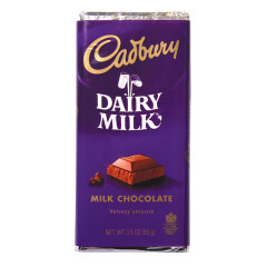 CADBURY DAIRY MILK CHOCOLATE 3.5 OZ BAR