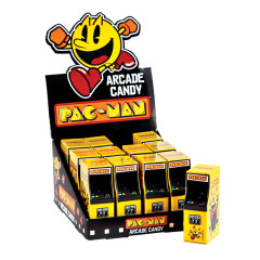PAC-MAN ARCADE STRAWBERRY CANDIES 0.6 OZ TIN