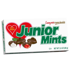 JUNIOR MINTS VALENTINE HEARTS 3.5 OZ THEATER BOX