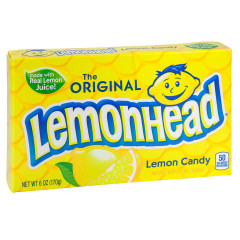 LEMONHEAD 5 OZ THEATER BOX