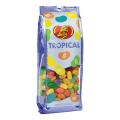 JELLY BELLY TROPICAL JELLY BEANS 7.5 OZ GIFT BAG