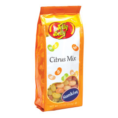 JELLY BELLY SUNKIST CITRUS JELLY BEAN MIX 7.5 OZ GIFT BAG