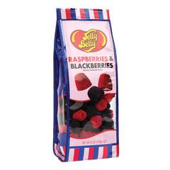 JELLY BELLY RASPBERRIES AND BLACKBERRIES 6 OZ GIFT BAG