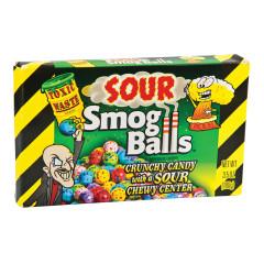 TOXIC WASTE SOUR SMOG BALLS 3.5 OZ THEATER BOX