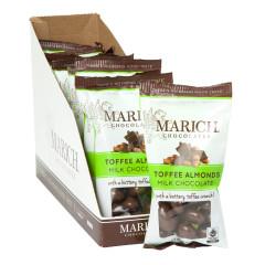 MARICH MILK CHOCOLATE TOFFEE ALMONDS 2.3 OZ