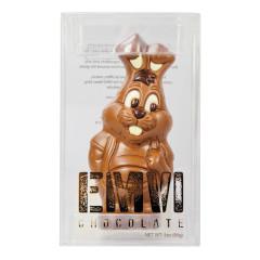 EMVI MILK CHOCOLATE BUNNY 3 OZ BOX