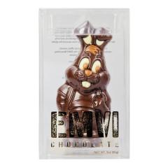 EMVI DARK CHOCOLATE BUNNY 3 OZ BOX