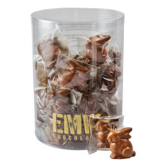 EMVI MINI MILK CHOCOLATE BUNNY 0.5 OZ