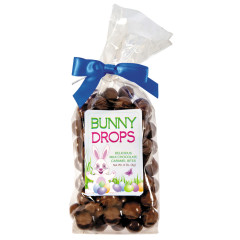AMUSEMINTS BUNNY DROPS MILK CHOCOLATE CARAMEL DUDS 9.25 OZ BAG