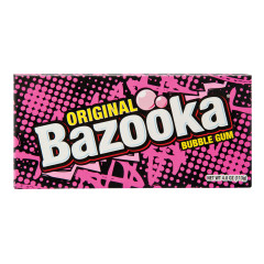 BAZOOKA ORIGINAL GUM 4 OZ THEATER BOX