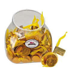 THOMPSON MILK CHOCOLATE FOILED GOLD COINS 1 OZ BAG