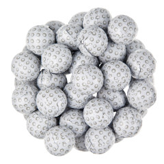 THOMPSON MILK CHOCOLATE FOILED GOLF BALLS