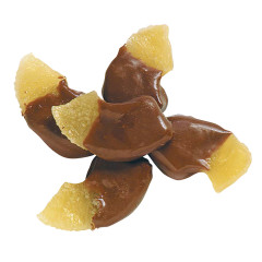 NASSAU CANDY MILK CHOCOLATE HALF DIPPED PINEAPPLES