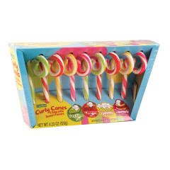 DESSERT FLAVORED CURLY CANES 4.23 OZ