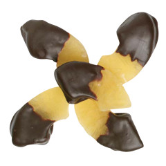 NASSAU CANDY DARK CHOCOLATE HALF DIPPED PINEAPPLES
