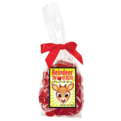 AMUSEMINTS REINDEER NOSES CHERRY FRUIT SOURS 7.5 OZ BAG