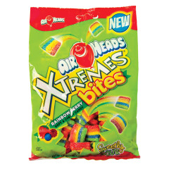 AIRHEADS XTREMES RAINBOW BERRY BITES 6 OZ PEG BAG
