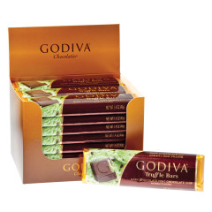 GODIVA DARK CHOCOLATE MINT CHOCOLATE CHIP 1.5 OZ BAR