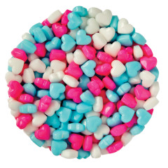 CLEVER CANDY DEXTROSE BABY LOVE HEARTS